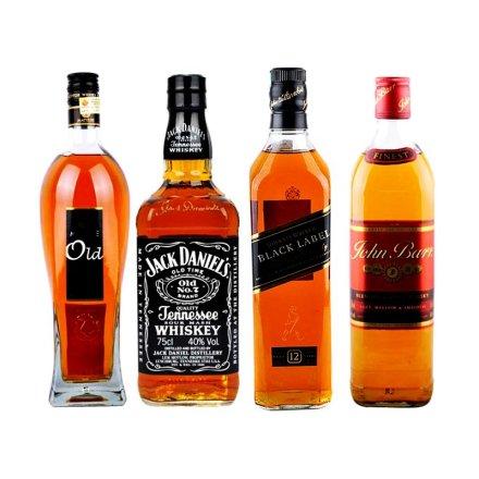 四大知名威士忌套装