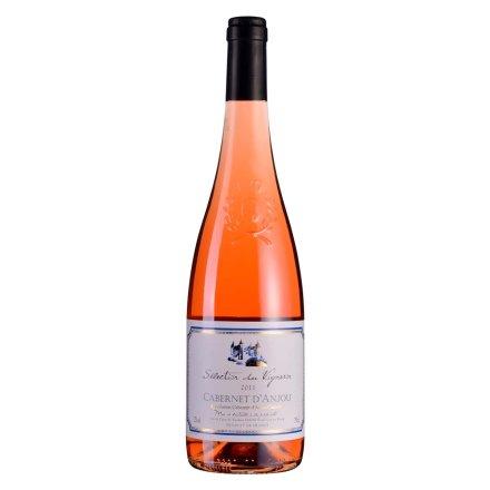 【清仓】12°法国嘉伯利安茹半干桃红葡萄酒750ml