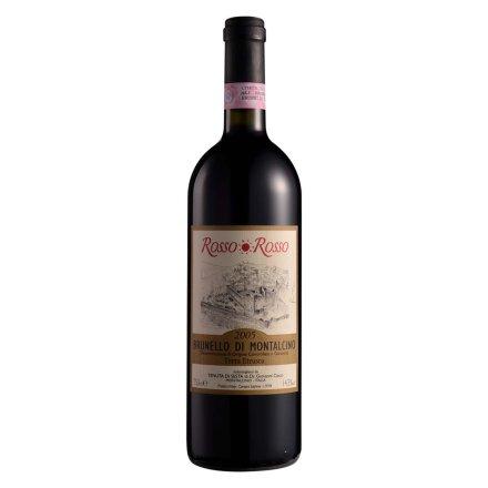 意大利红与红布鲁奈罗干红葡萄酒750ml