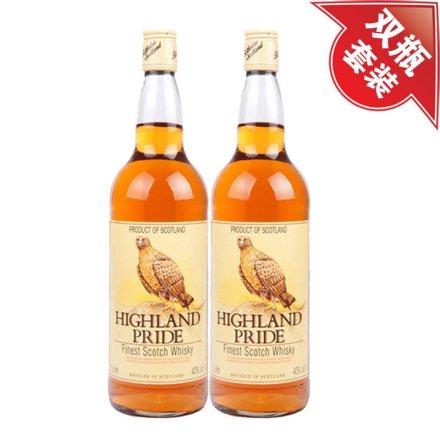 (清仓)40°高山鹰苏格兰威士忌1000ml(双瓶装)