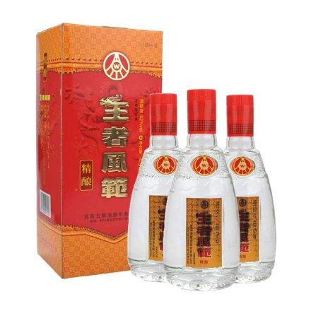 52°五粮液股份王者风范精酿475ml(3瓶装)