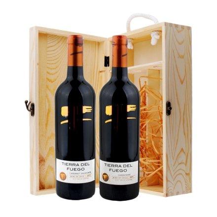 智利火地岛经典双支松木礼盒