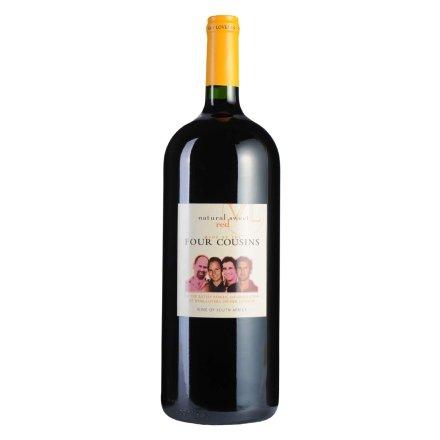 南非四兄弟芳香甜红葡萄酒1500ml