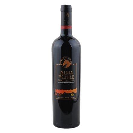 智利艾玛庄园赤霞珠干红葡萄酒750ml