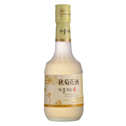 13.2°韩国舞鹤秋菊花酒375ml