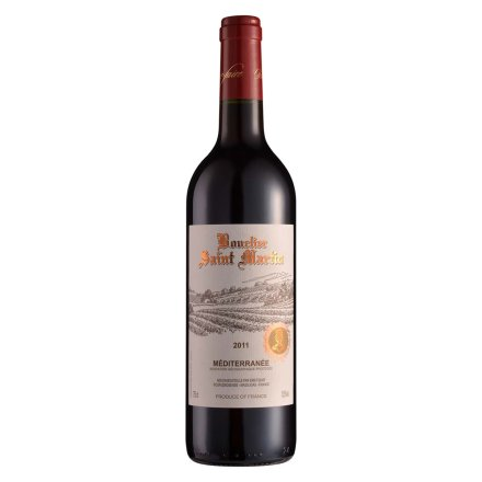 法国罗纳河谷圣马丁骑士庄园干红葡萄酒750ml
