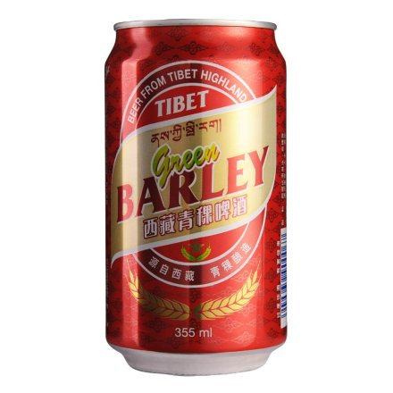 西藏青稞啤酒355ml