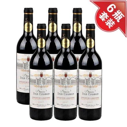 法国克洛斯城堡红葡萄酒(6瓶装)