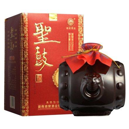 52°湖南湘泉酒业(红)圣鼓酒500ml