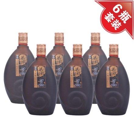 (清仓)12°梁祝黄酒99年冬酿(半干型) 500ml(6瓶装)