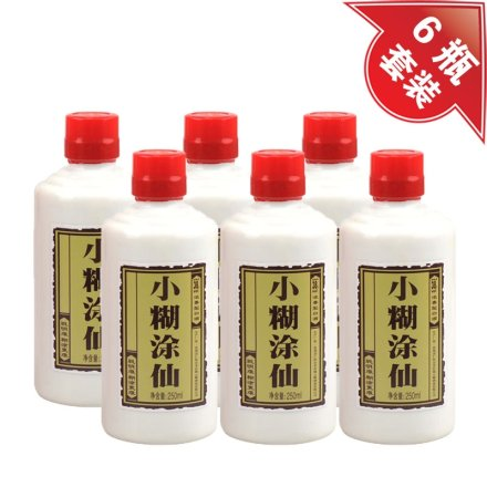 (清仓)38°小糊涂仙250ml(6瓶装)