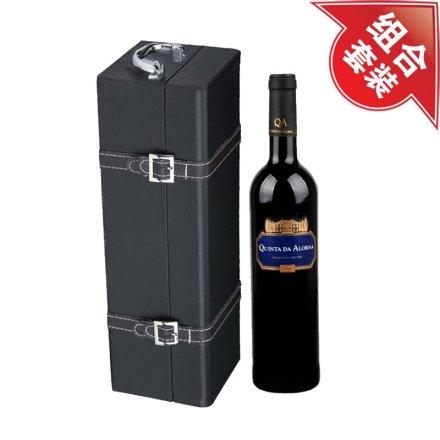 金碧宫2008干红葡萄酒+黑色单支皮盒