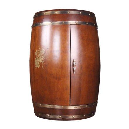 越海酒柜YC-70(橡木桶)