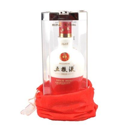 【老酒】39°五粮液1618陶瓷瓶500ml(2012年)