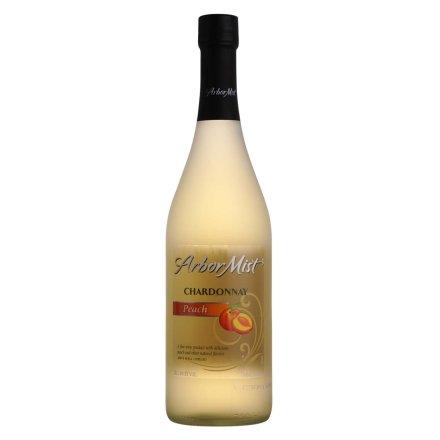 美国绿雾蜜桃莎当妮水果味葡萄酒750ml