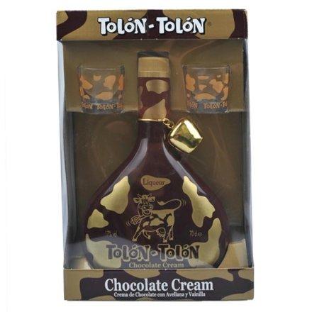 (清仓)17°特隆甜酒巧克力奶油口味礼盒700ml