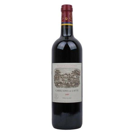 小拉菲2007干红葡萄酒 拉菲庄副牌 法国波尔多一级列级酒庄酒