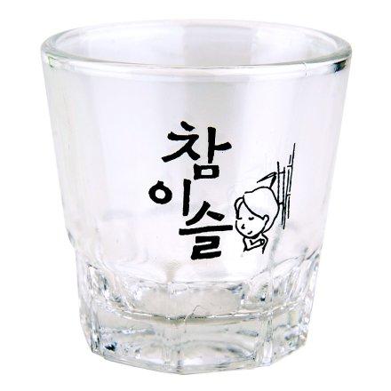 JINRO真露烧酒专用玻璃杯(乐享)