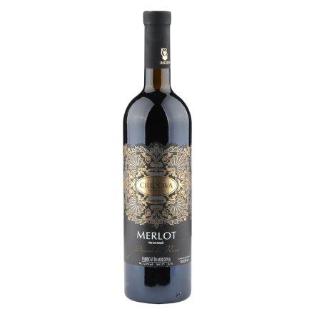 【清仓】摩尔多瓦梅乐半甜红葡萄酒750ml