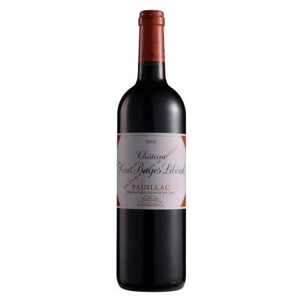 【清仓】法国奥巴里奇古堡2006干红葡萄酒750ml
