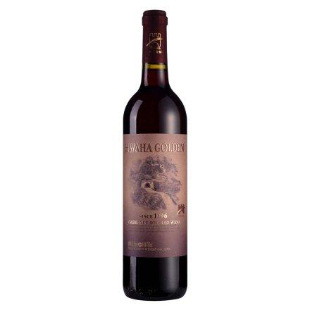 华夏金标1996卡本纳干红葡萄酒750ml