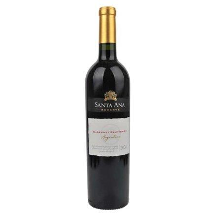 阿根廷圣安纳珍藏加本纳沙威浓红葡萄酒