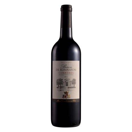 法国博纳科比尔干红葡萄酒750ml