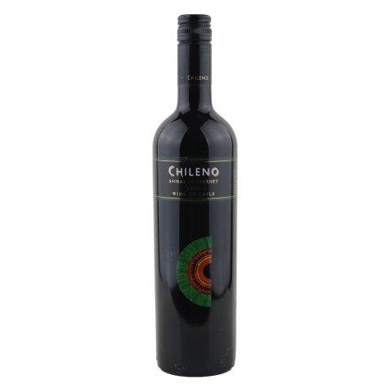【清仓】智利人西拉赤霞珠干红葡萄酒750ml