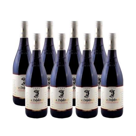 法国德尔菲娜干红葡萄酒(8瓶装)