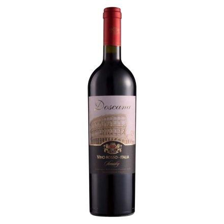 【清仓】意大利多斯卡纳半干红葡萄酒(城墙)750ml