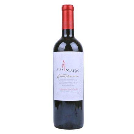 (清仓)智利迈坡精品奉献系列赤霞珠西拉干红葡萄酒