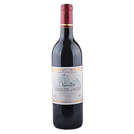 (清仓)法国安格斯男爵圣西岩干红葡萄酒