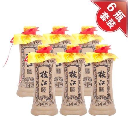 42°枝江古酒十年陈酿500ml(6瓶装)