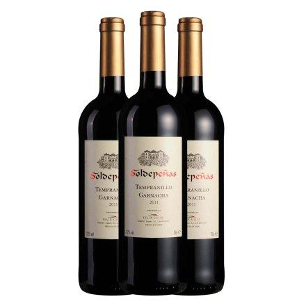 西班牙欧娜干红葡萄酒750ml(3瓶装)