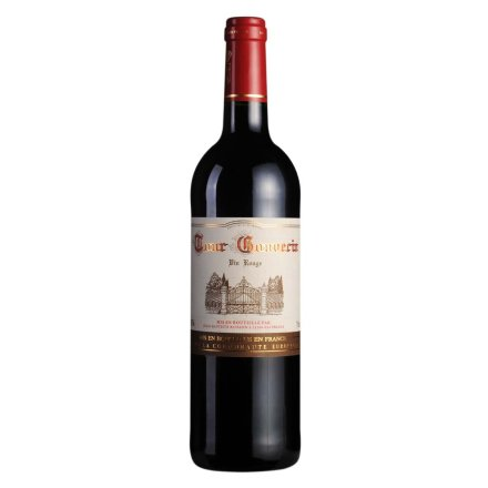 法国勃朗古堡干红葡萄酒750ml