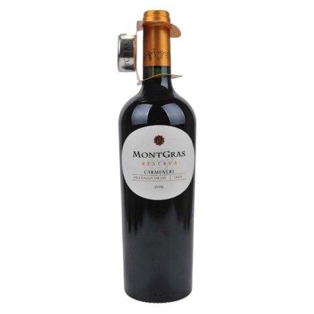 智利嘉斯山珍藏加文拿红葡萄酒