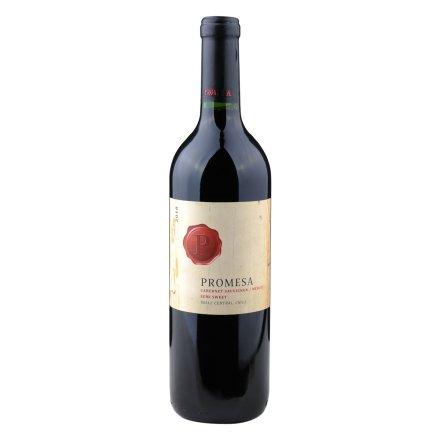 【清仓】智利普罗米萨混酿赤霞珠/美乐半甜红葡萄酒750ml