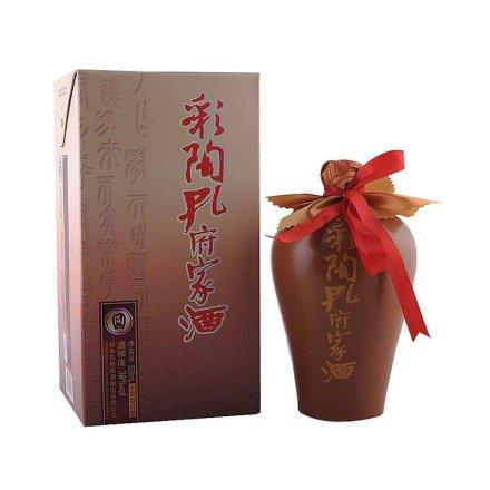 38°彩陶孔府家酒500ml