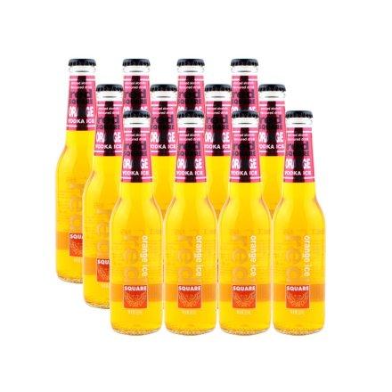 红广场橙冰预调酒橙味265ml(12瓶装)