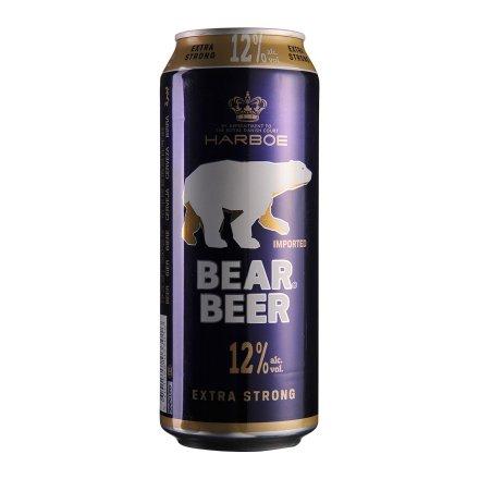 德国哈尔博蓝熊啤酒500ml