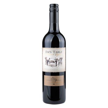 【清仓】澳大利亚艾玛餐桌设拉子红葡萄酒