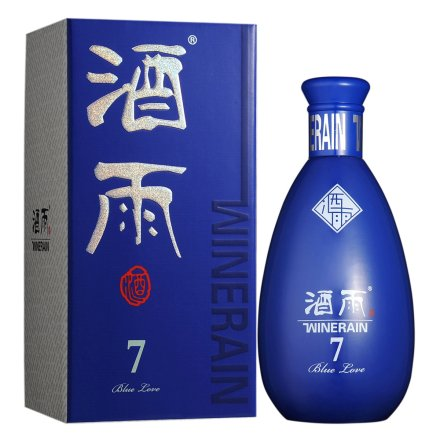53°贵州酒雨蓝色的爱7酱酒 500ml