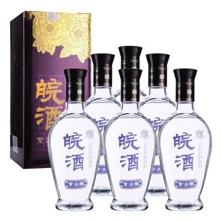 42°皖酒紫淡雅500ml(6瓶装)