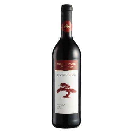 美国伍顿沃德湾仙粉黛红葡萄酒750ml