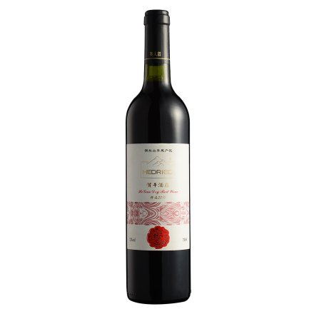 中国宁夏贺干酒莊干红红葡萄酒750ml