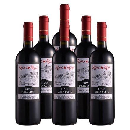 意大利红与红宫廷干红葡萄酒(6瓶装)