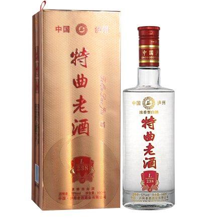 52°中国·泸州老酒浓香型特曲老酒(L238)500ml
