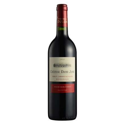【清仓】法国杜隆波尔多产区圣母简古堡干红葡萄酒2010 750ml