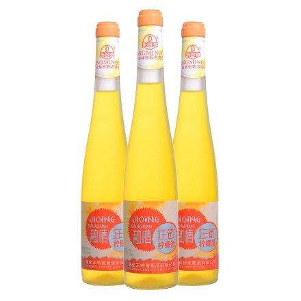 5°东名驰激情狂欢柠檬酒375ml(3瓶装)