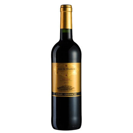 法国赫德安妮干红葡萄酒750ml